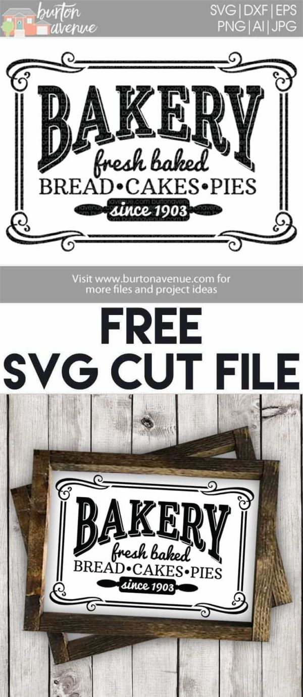 Download Free SVG files for Cricut & Silhouette | Kitchen Room SVG ...