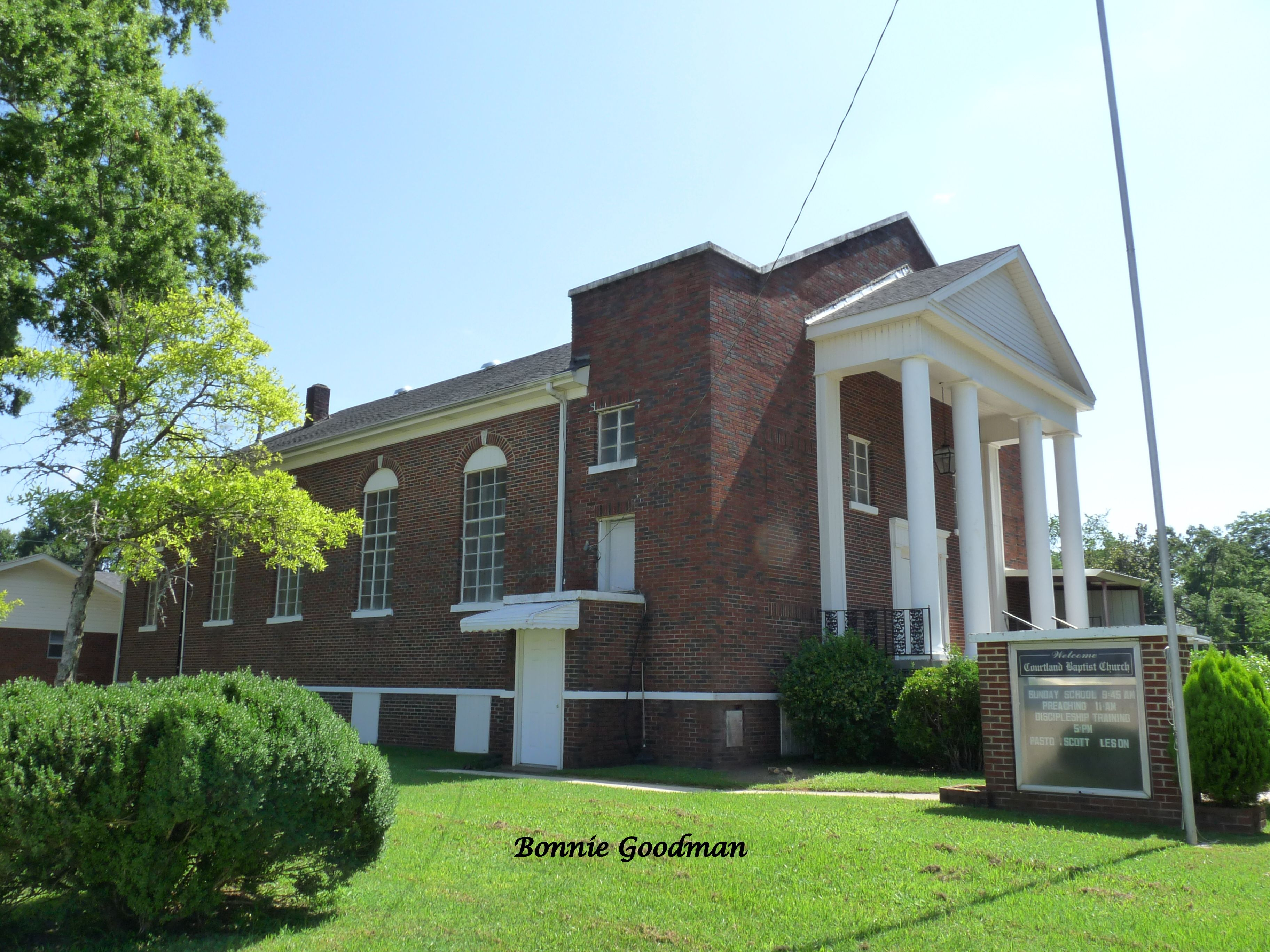 Courtland Baptist Church Courtland, Alabama Churches
