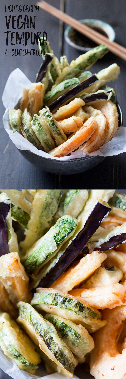 Vegan tempura Recipe Tempura, Party appetizers and Vegans