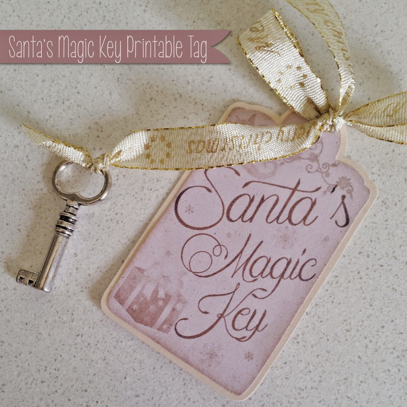 A Little Bit Of Homemade Heaven Santa's Magic Key free
