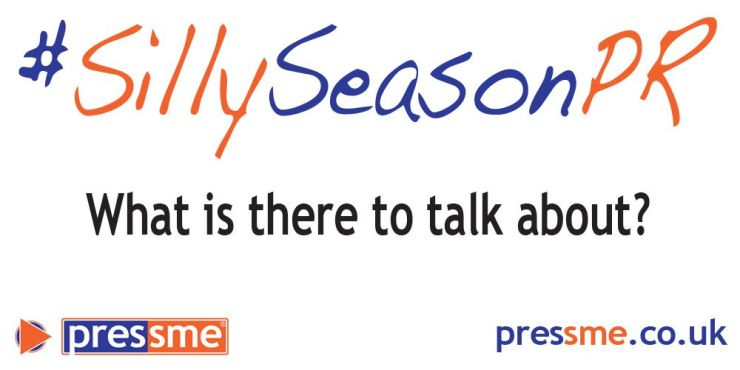 What is there to talk about? #SillySeasonPR