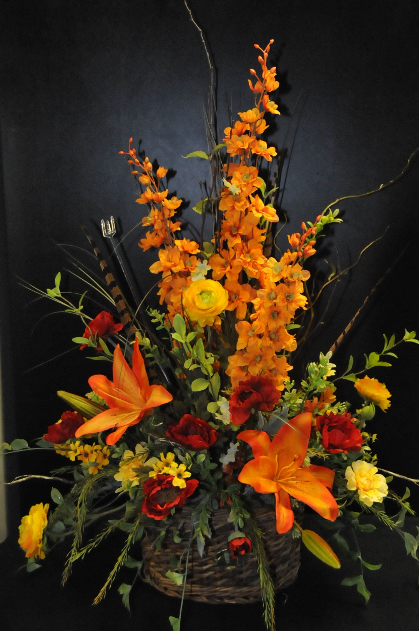 A beautiful silk arrangement for fall! Found at www