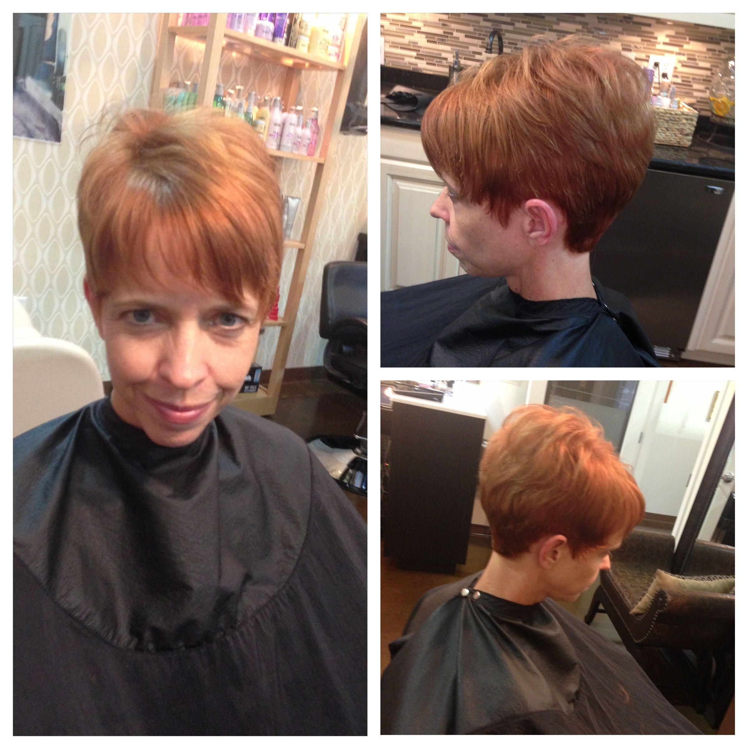 Color haircut & treatment by Lezlie Lumpkin Price at Z Nevaeh Salon