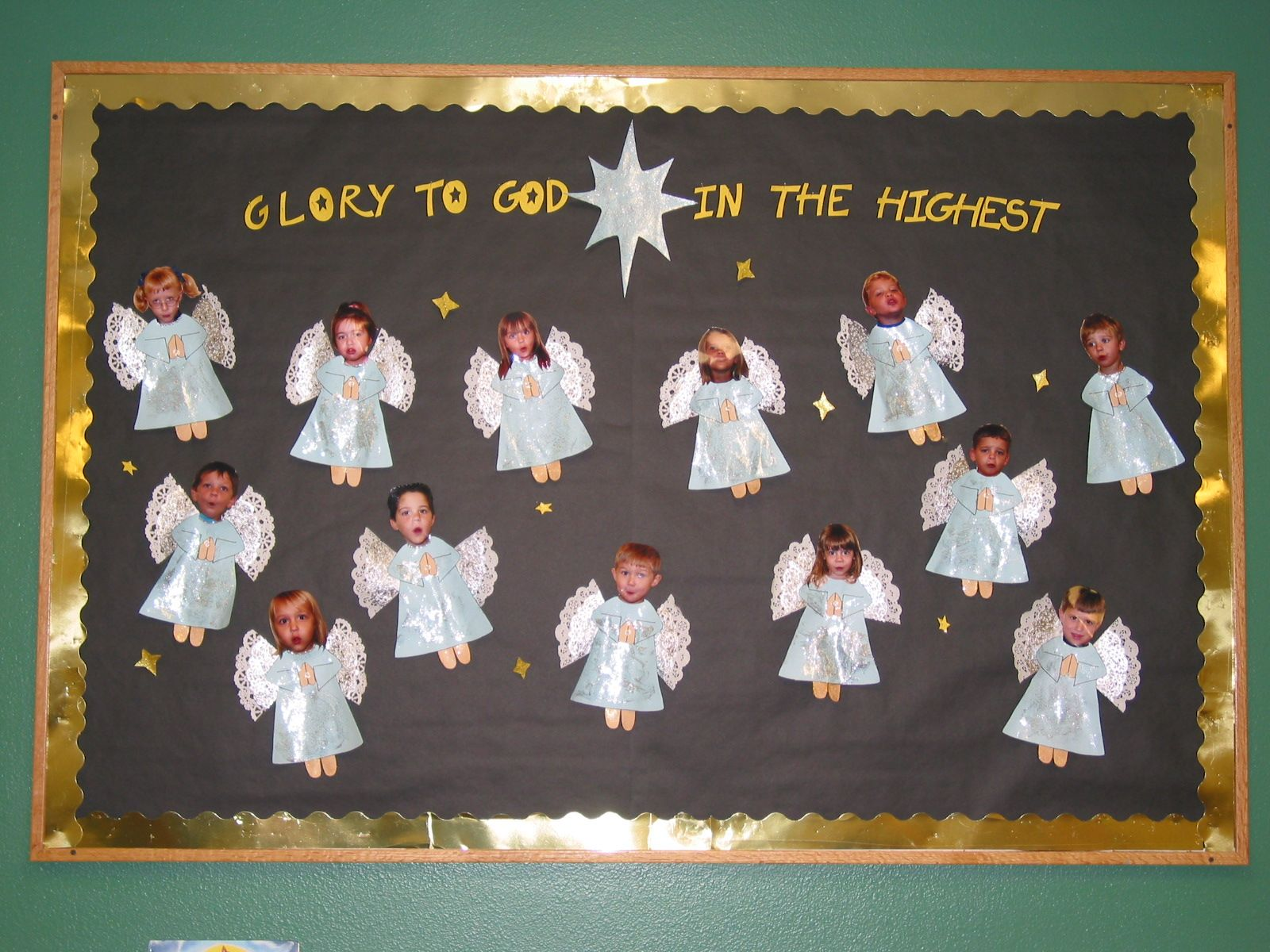 Made A Heavenly Host Out Of My Preschoolers Sweet Lil Angels