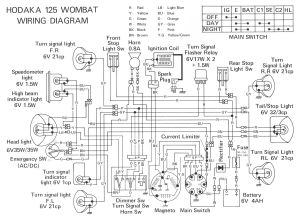 Dirt Bike Wiring Diagram | Hodaka | Pinterest | Dirt biking