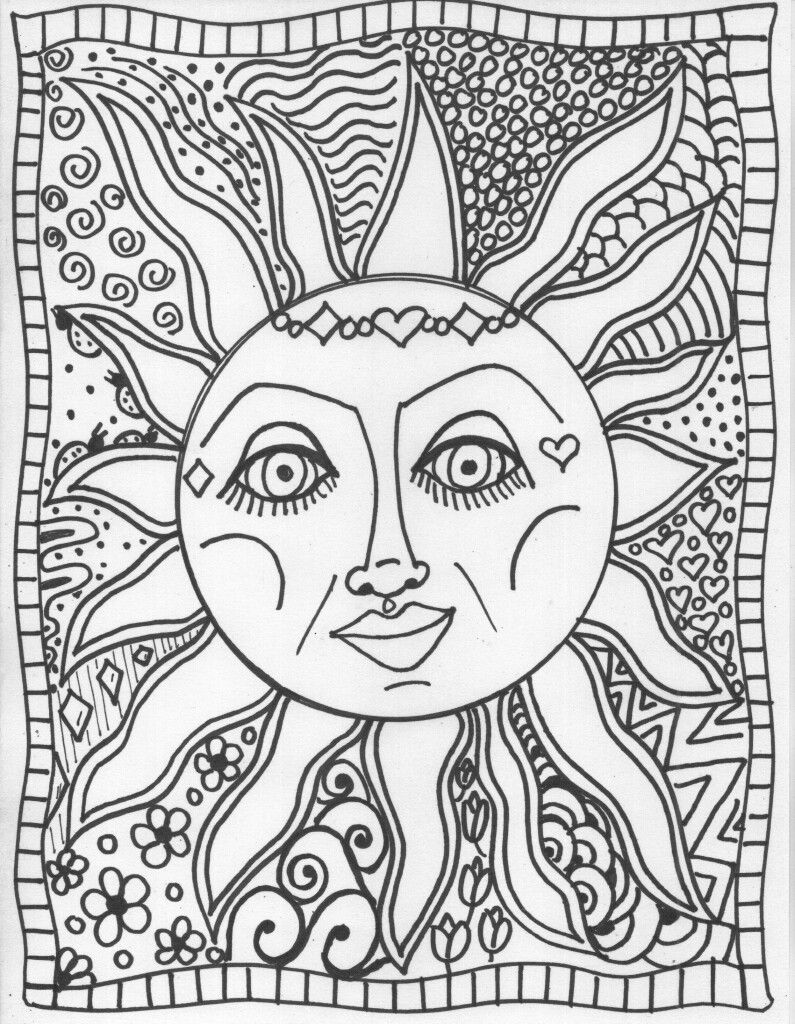 Pin By Stina On Hippie Coloring Pages Pinterest