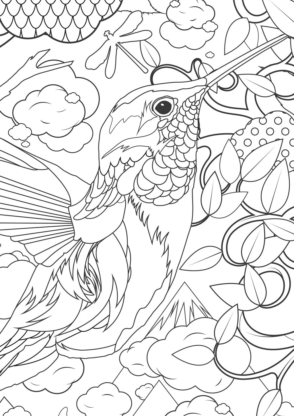 Supersized Colouring Picture From Kek Amsterdam