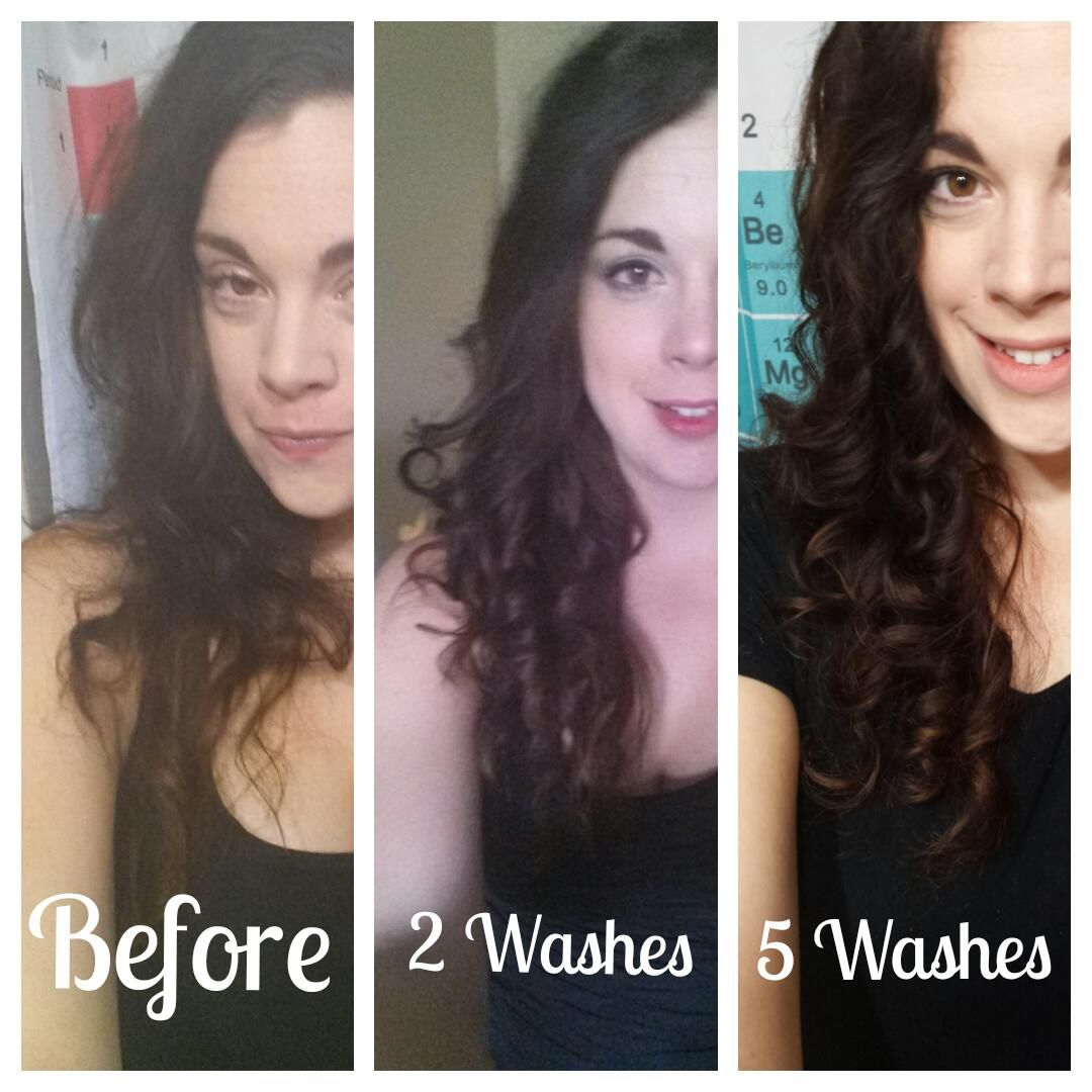 Before & After Monat The beginning Inner Curl
