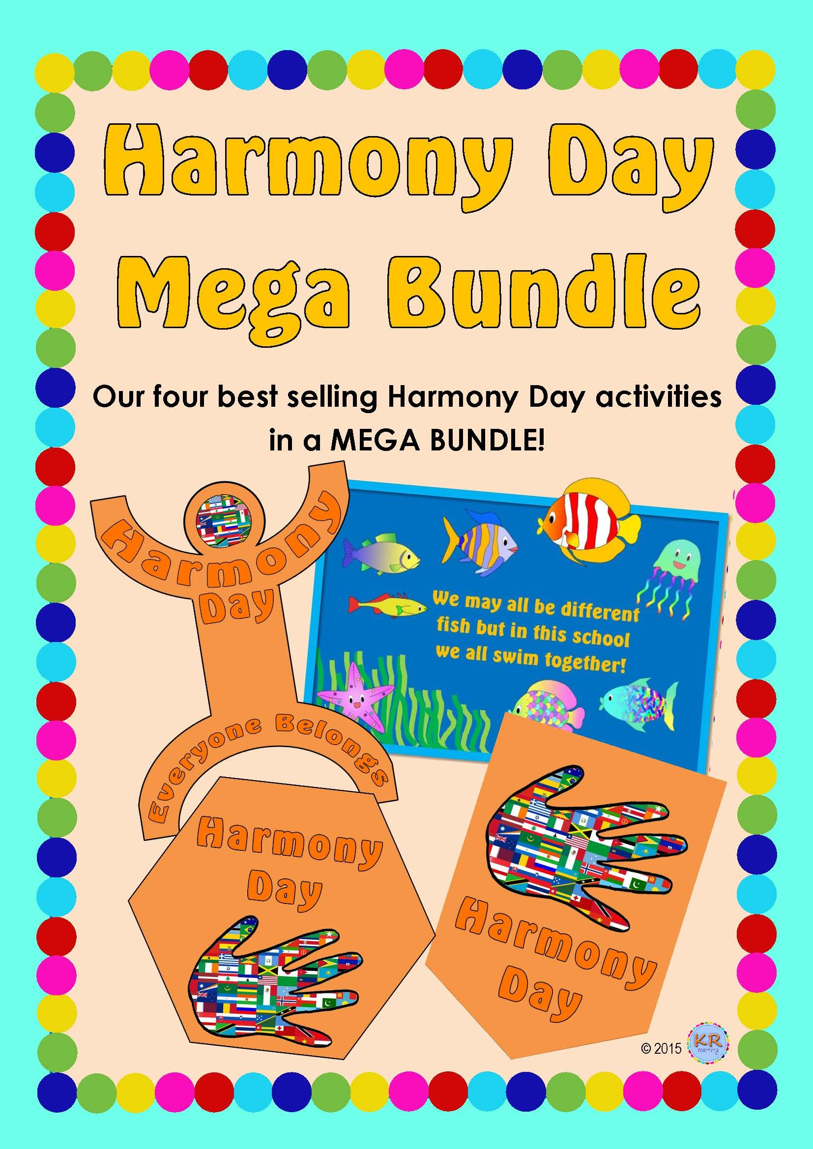 Harmony Day Mega Bundle Combining The Best Selling Harmony
