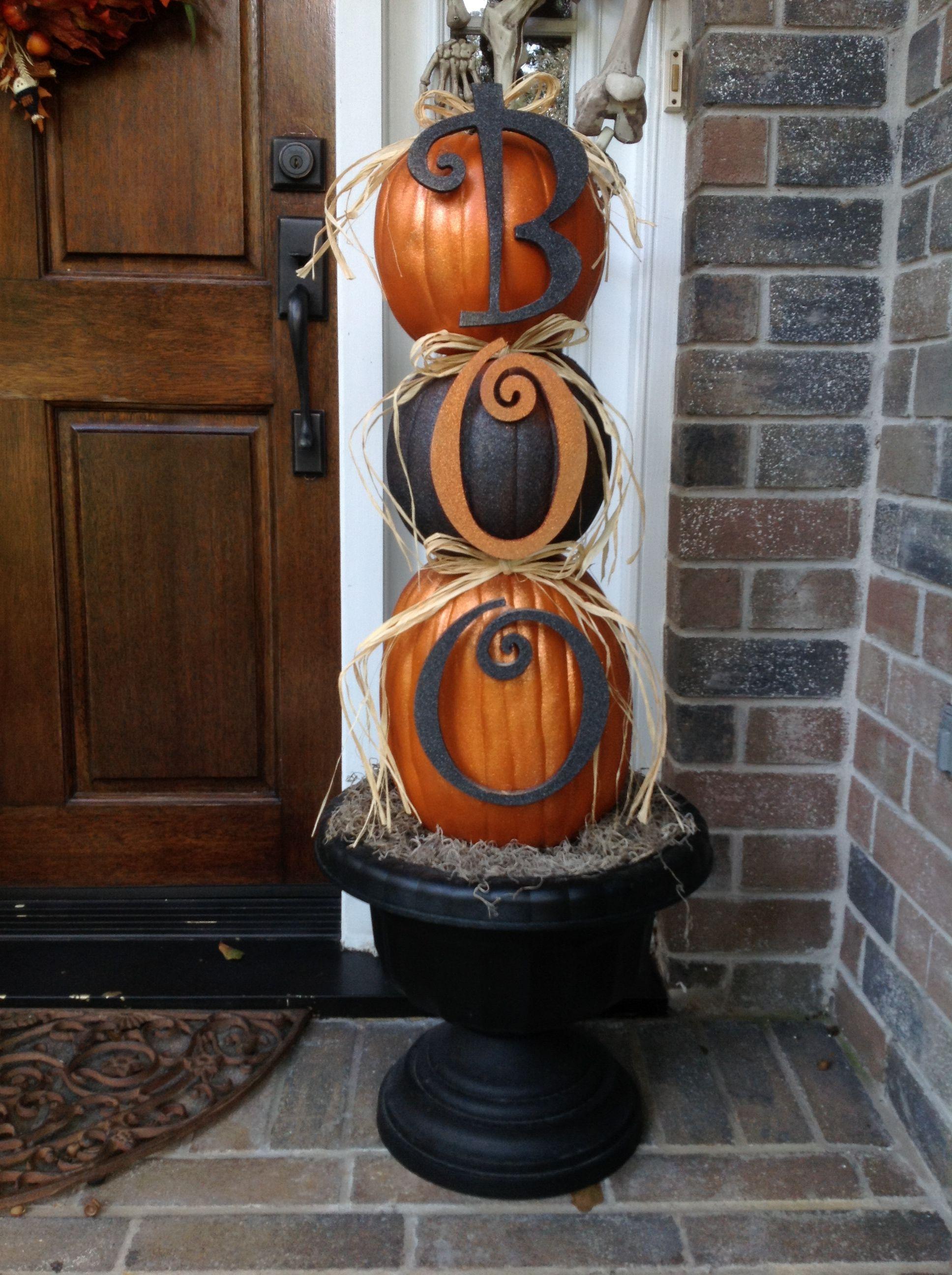 Outdoor Halloween decorations Happy Halloween