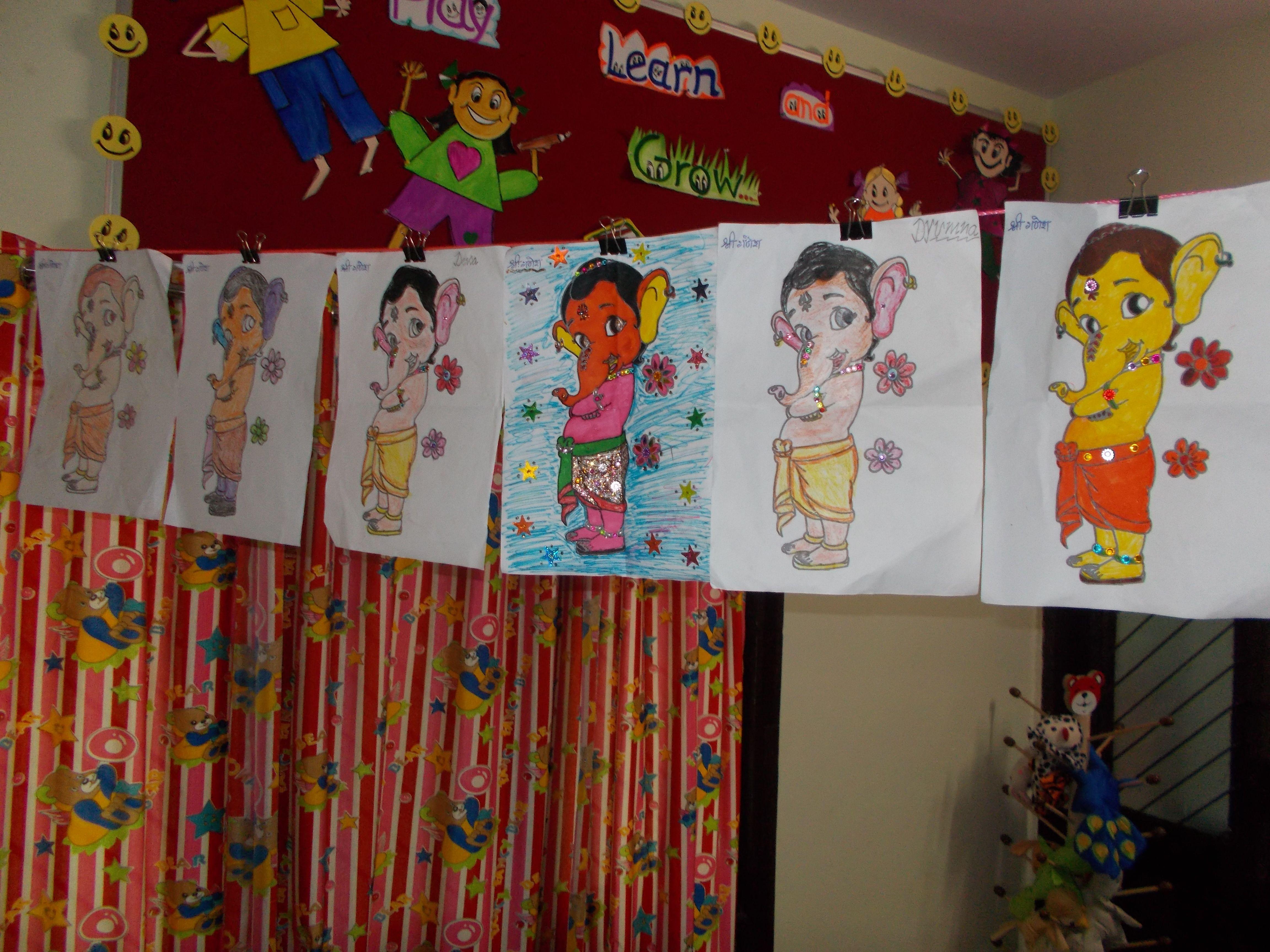 Bal Ganesh Worksheets