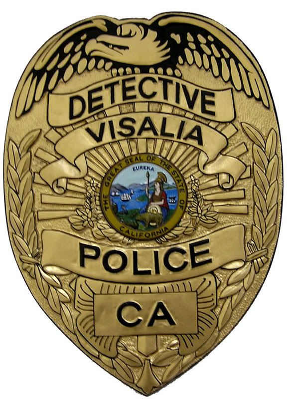 police badge Police Pinterest Cas, Detective and Badges