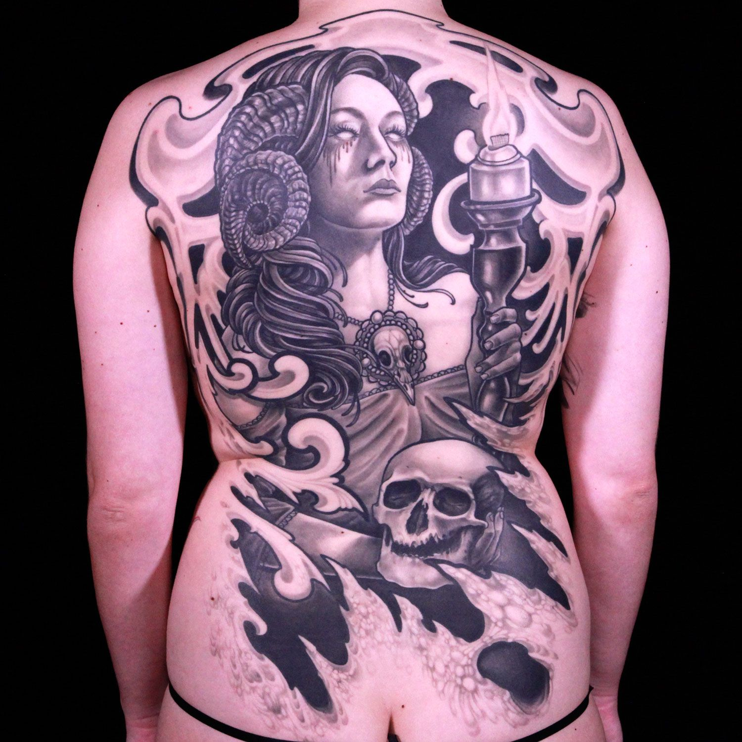 Master Canvas by Matt O'Baugh Ink Master Finale Tattoos
