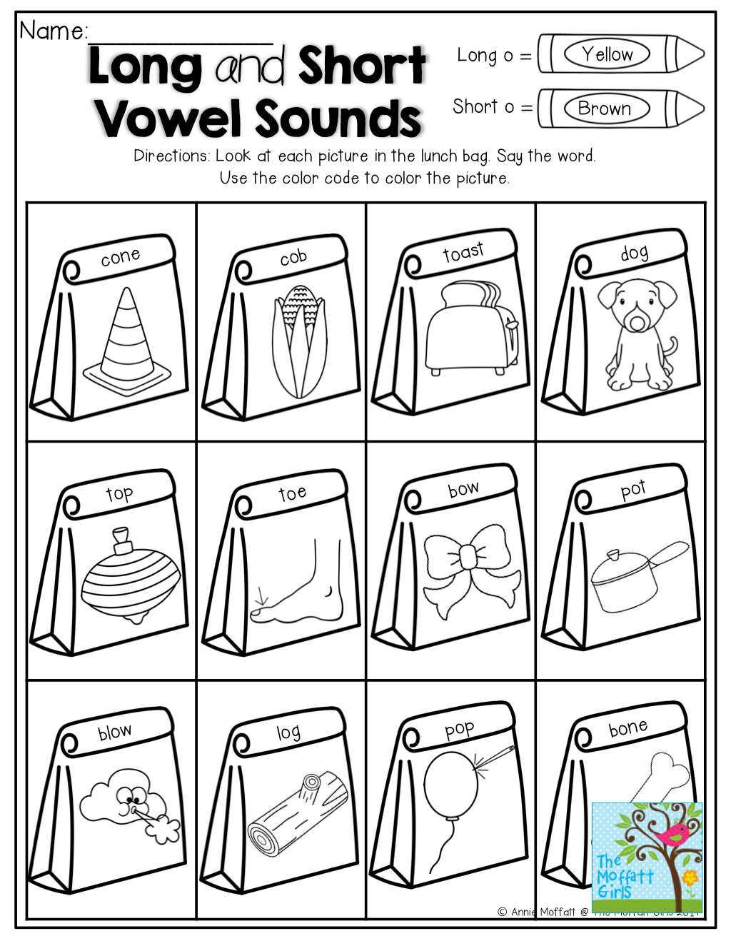 Long And Short Vowel Sounds