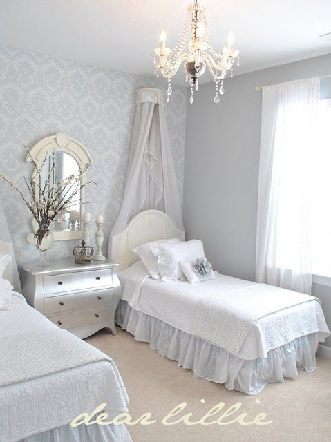 Love The Two Twin Beds Perfect For A Guest Room Or Little S Who