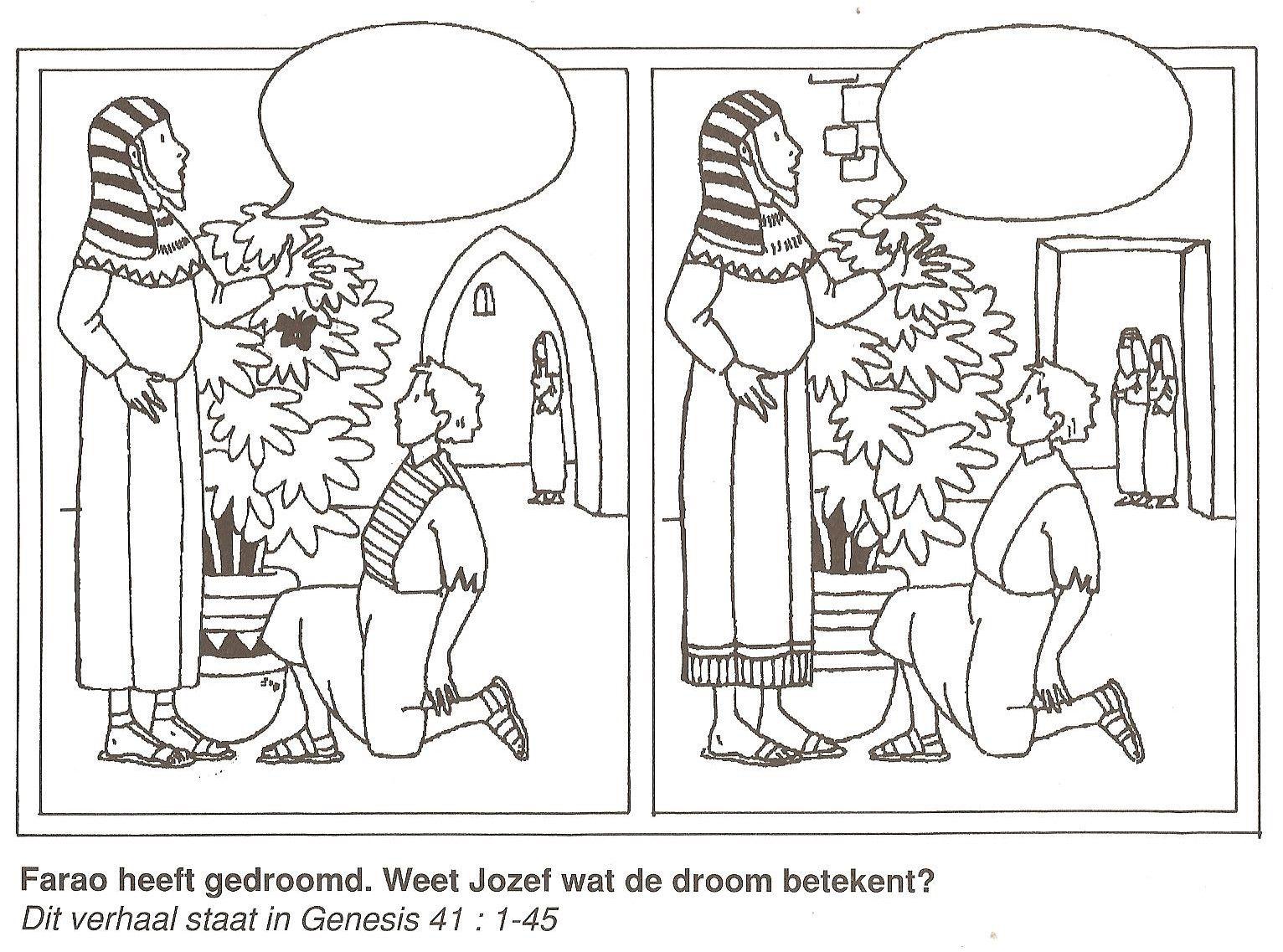 Farao Heeft Gedroomd Weet Jozef Wat De Droom Betekent
