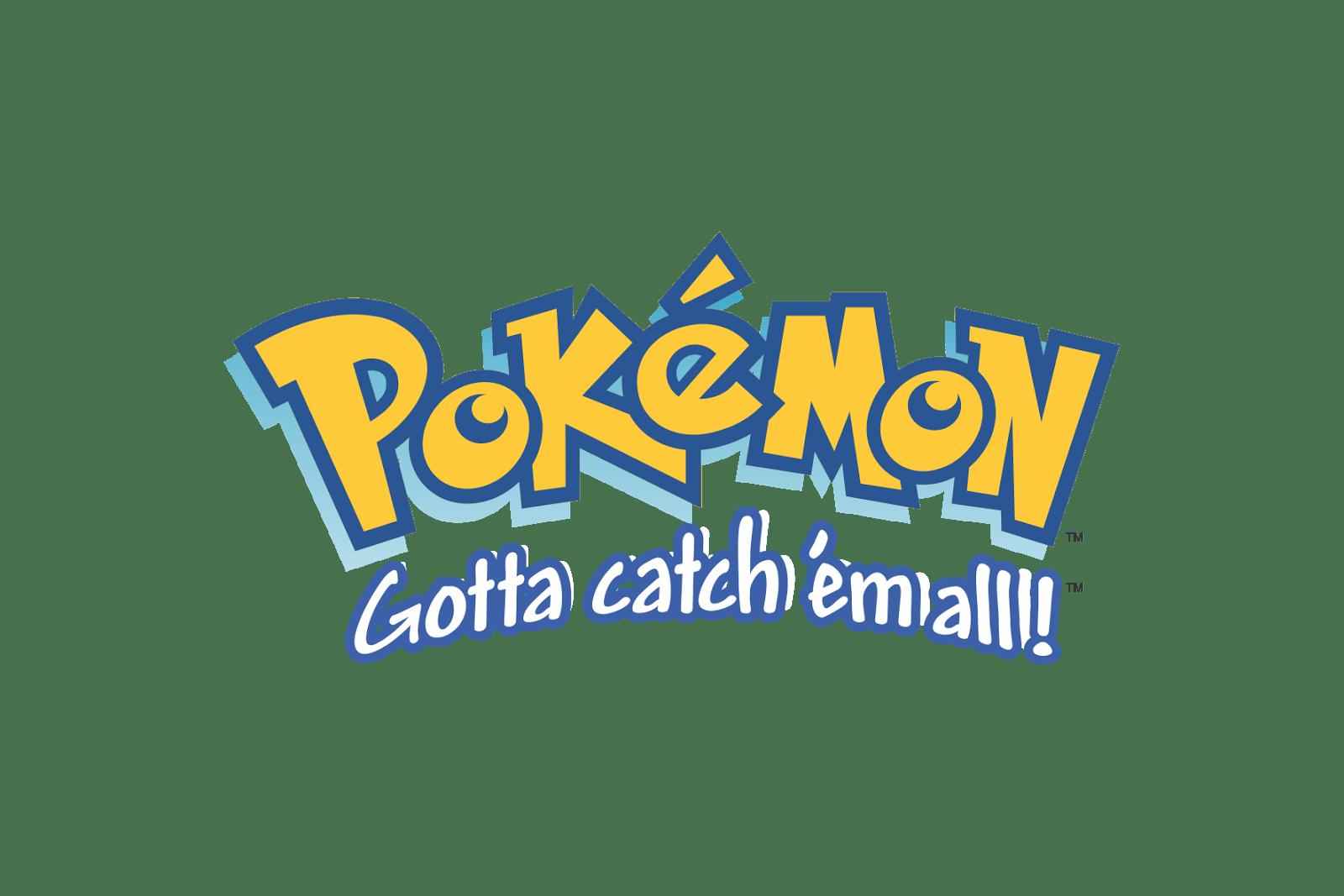 Pokémon Logo Gotta catch 'em all! Pokémon Logos