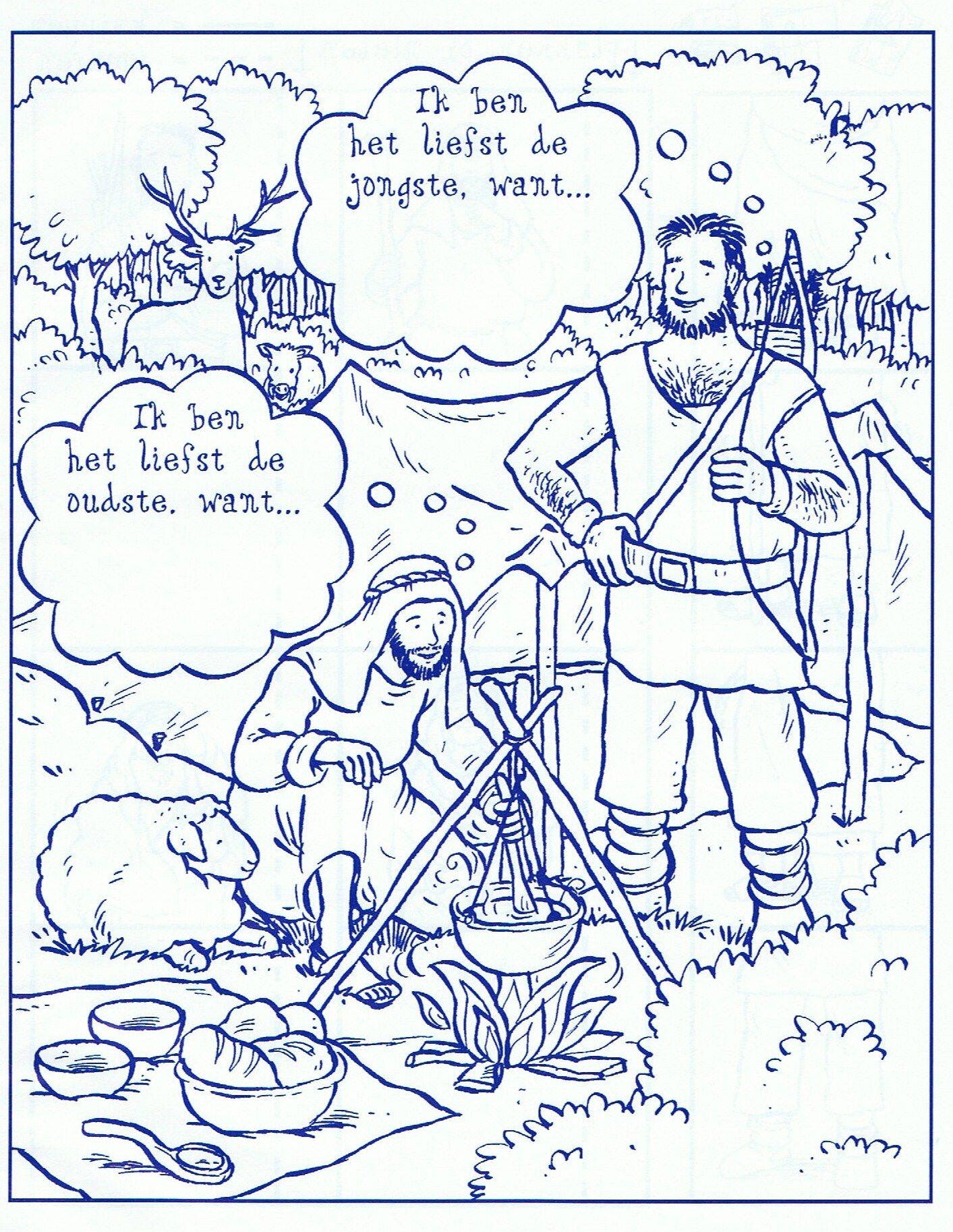 Jacob En Ezau