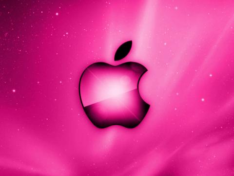 Applelogoa11_pink.png 480×360 pixels Apples in Pink
