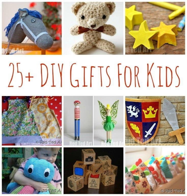 25+ DIY Gifts for Kids Make Your Gifts Special Gift