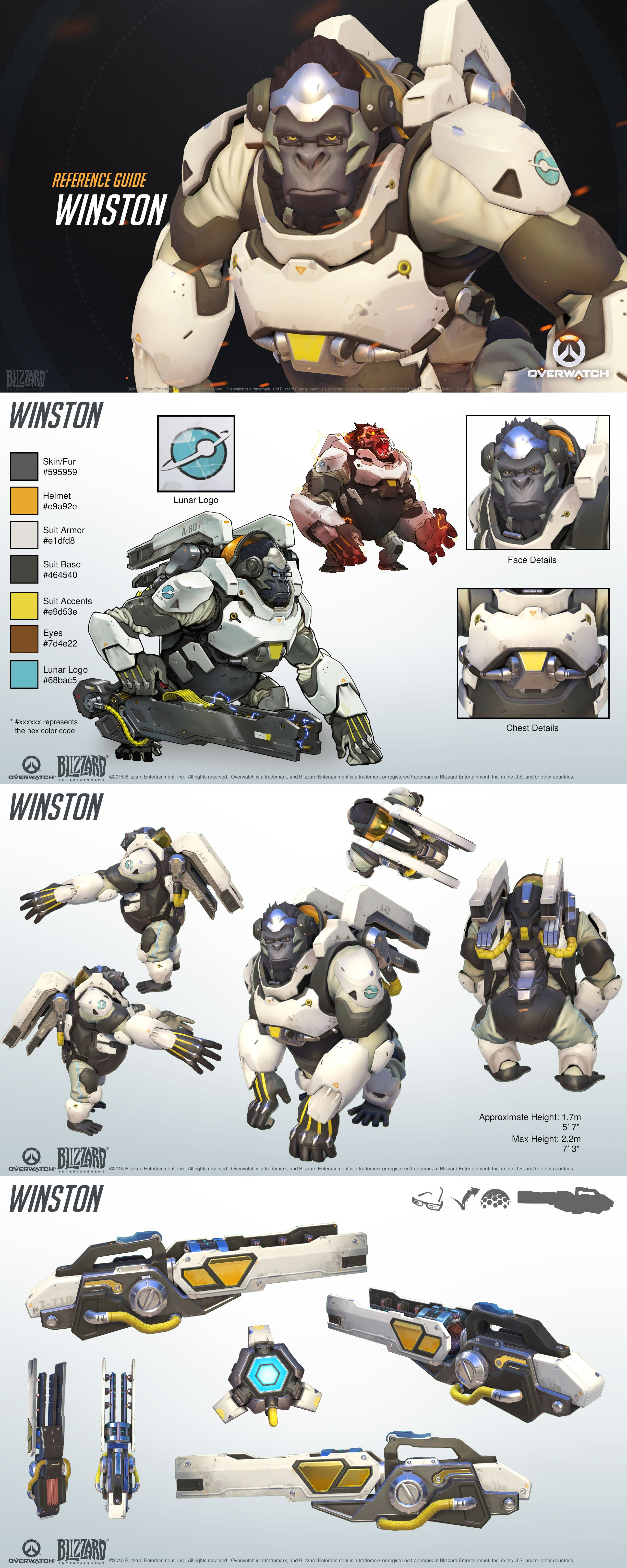 Want To Make Some Overwatch Fan Art Check Out Blizzards Style Guides Slide 10 Overwatch