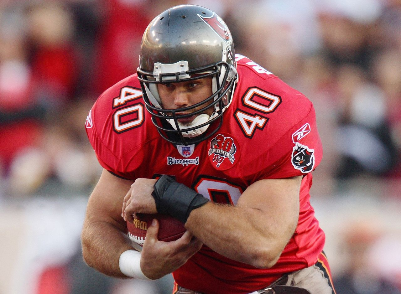 Mike Alstott, Tampa Bay Buccaneers Played Fullback but had