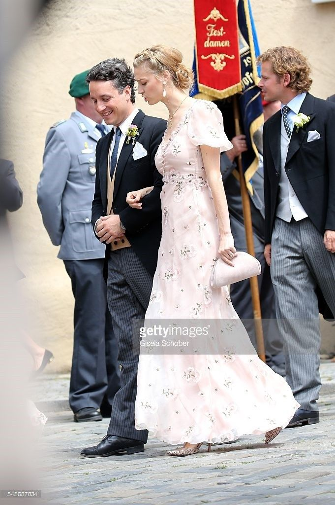 Beatrice Borromeo attended the wedding of Hereditary