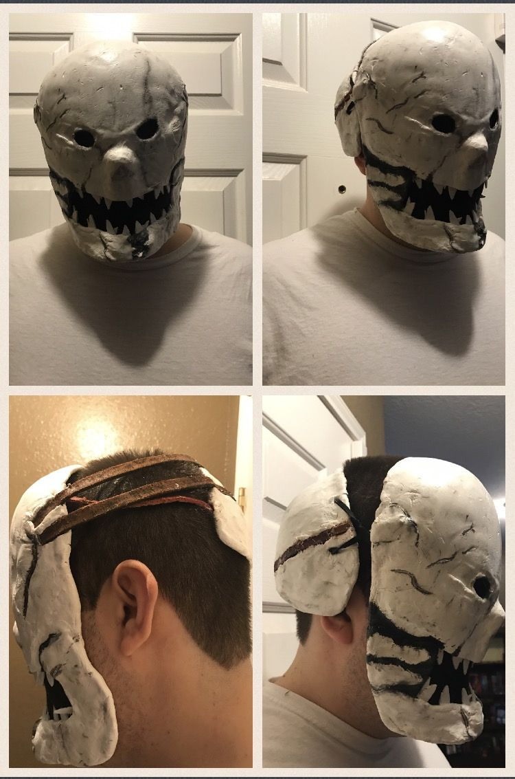 DIY Dead by Daylight Trapper Mask DIY Home Projects