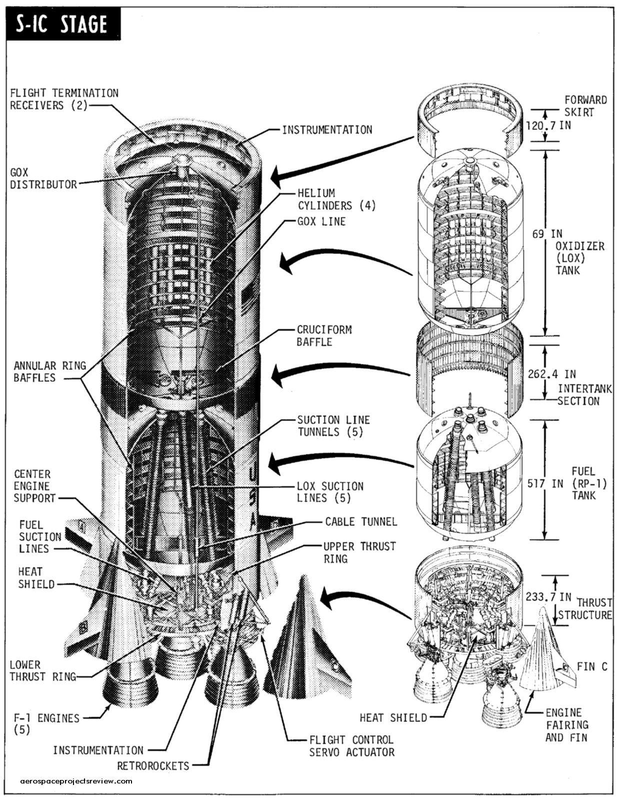 Apollo 13 Rocket Drawing Page 3