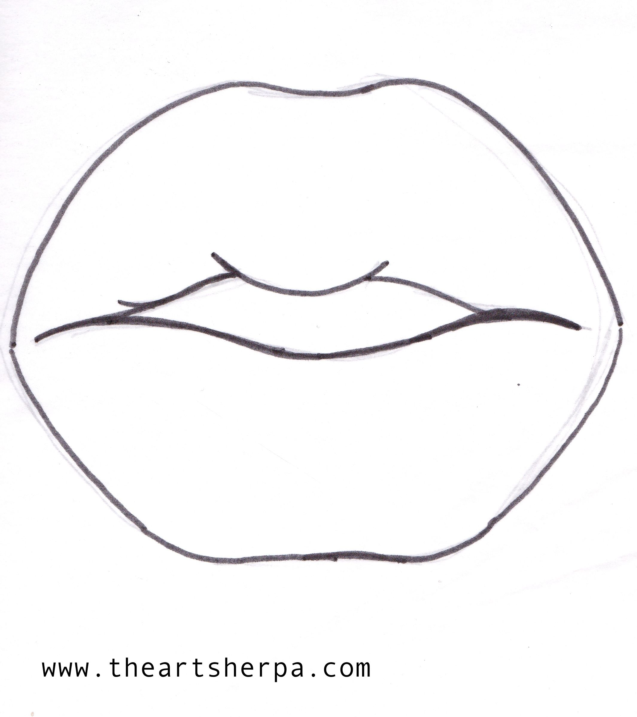 Lip Traceable For The Art Sherpa Lisafrankinspired