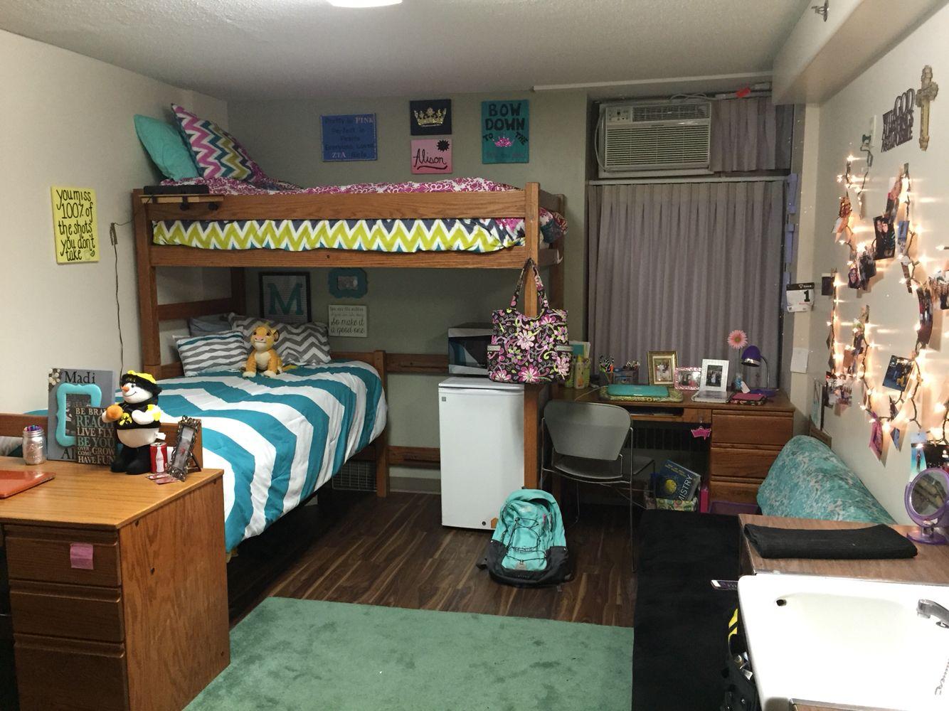 Dorm; University of Iowa College & Dorm Room Pinterest