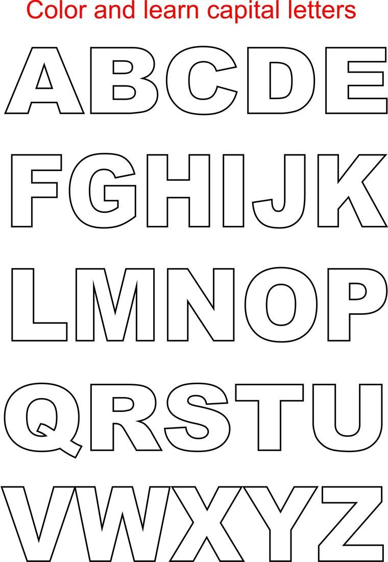 alphabet letters coloring pages and alphabet on pinterest