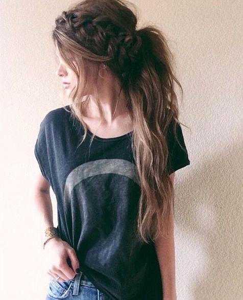 Best 25 Cute ponytail  hairstyles  ideas  on Pinterest