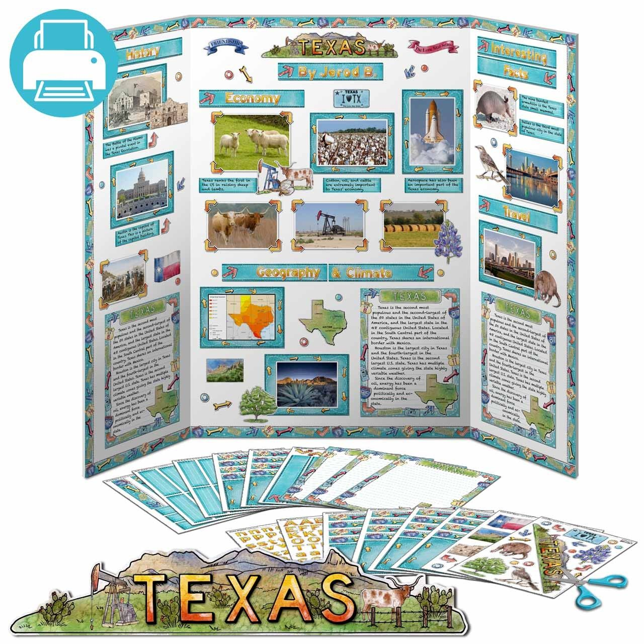 Texas State Report Kit