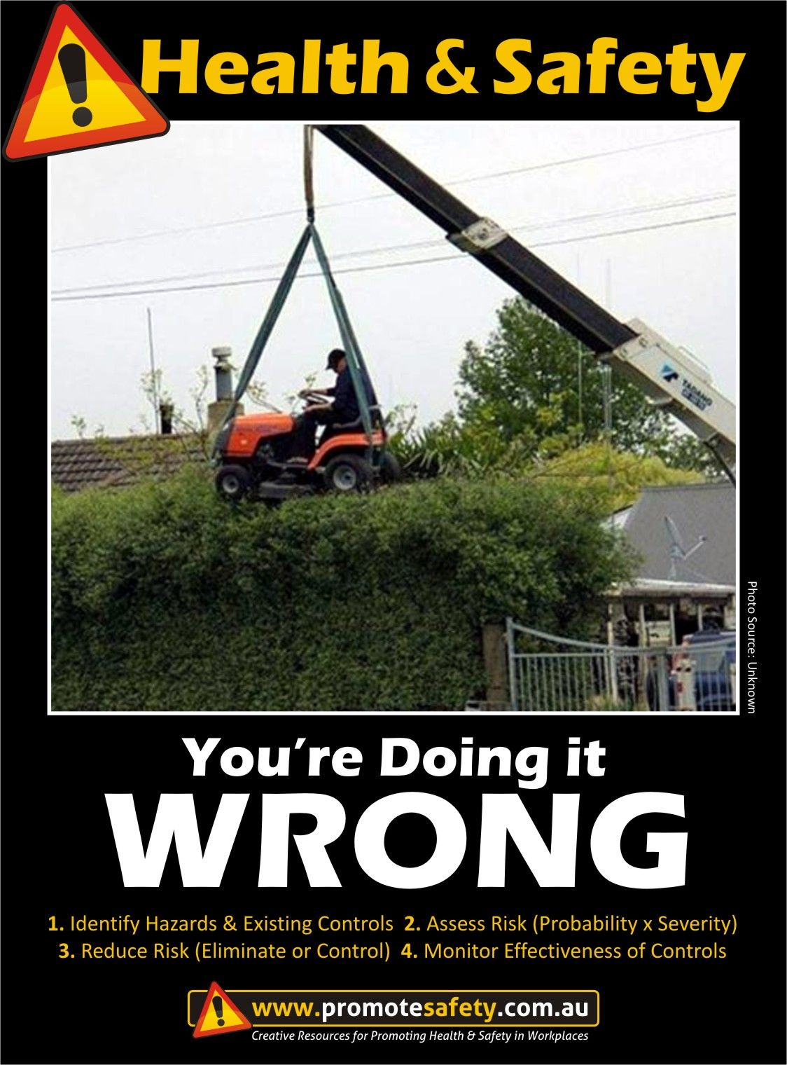 Health & Safety You're Doing it Wrong Work at Height