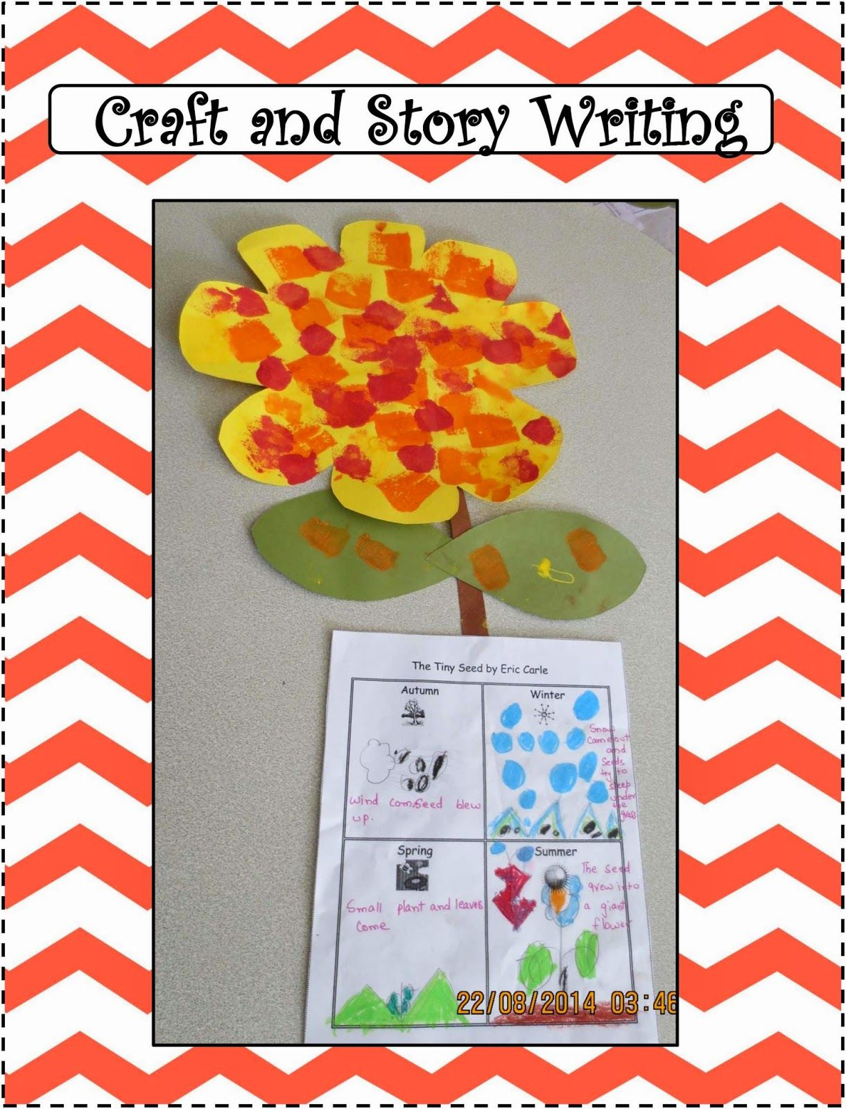 Activities For The Book The Tiny Seed By Eric Carle