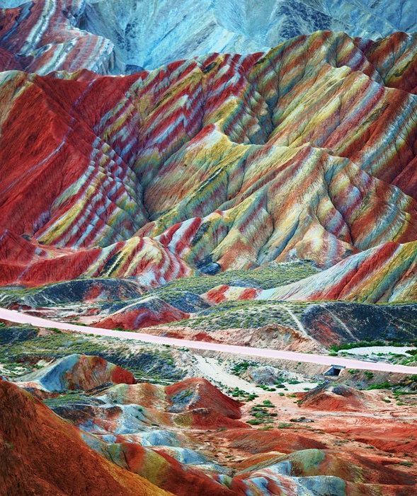 10 Places You Have To See To Believe Zhangye Danxia