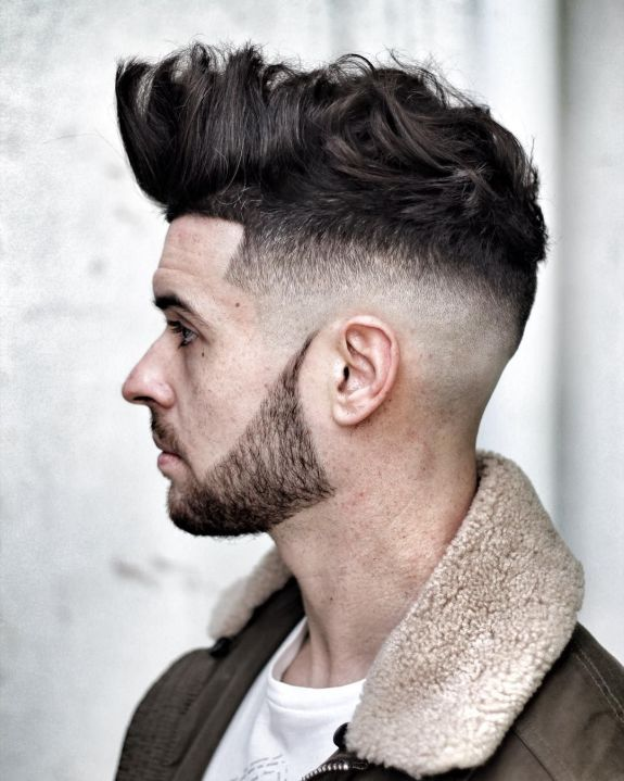 Image result for Long Top + Undercut Fade