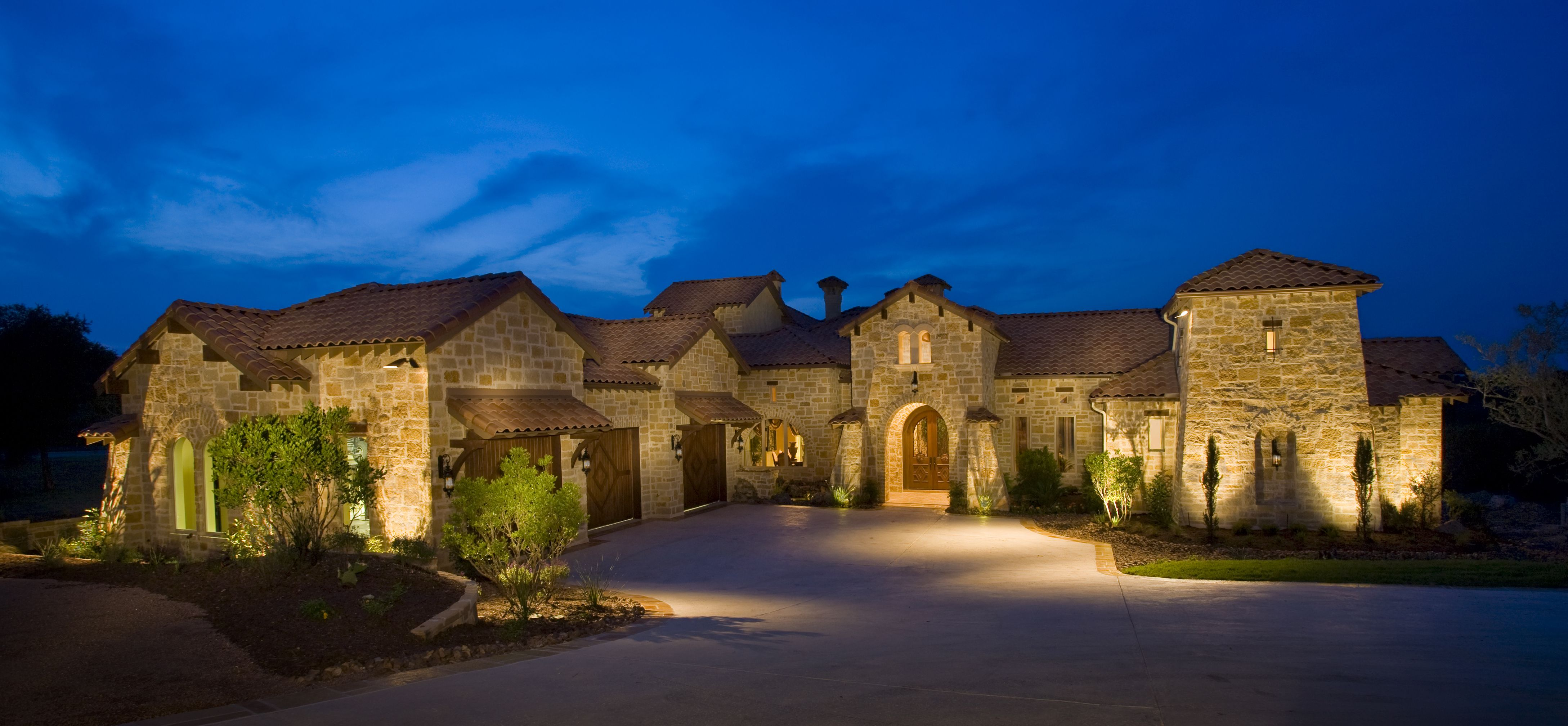 luxury ranch homes Luxury Ranch Style House Custom home
