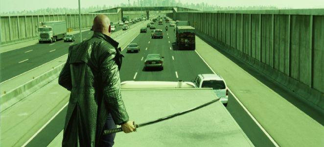 Resultado de imagen para matrix reloaded highway scene