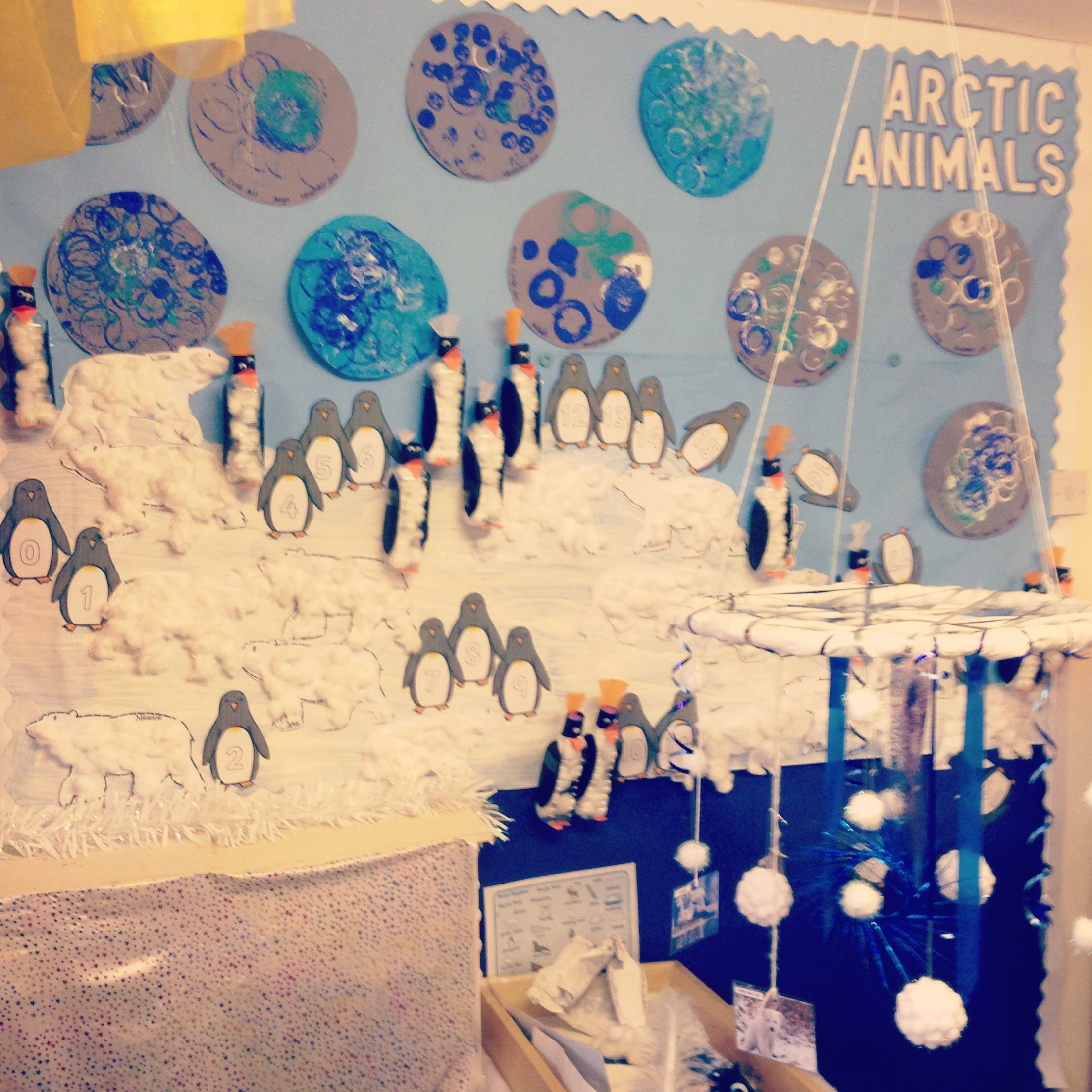 Arctic animals/ winter display, smallworld and