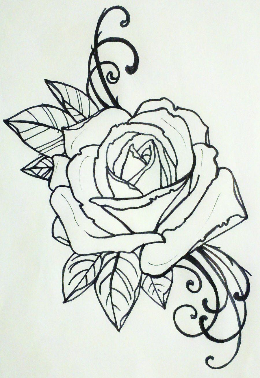 tattoo rose by resonanteye on deviantART tattoo ideas