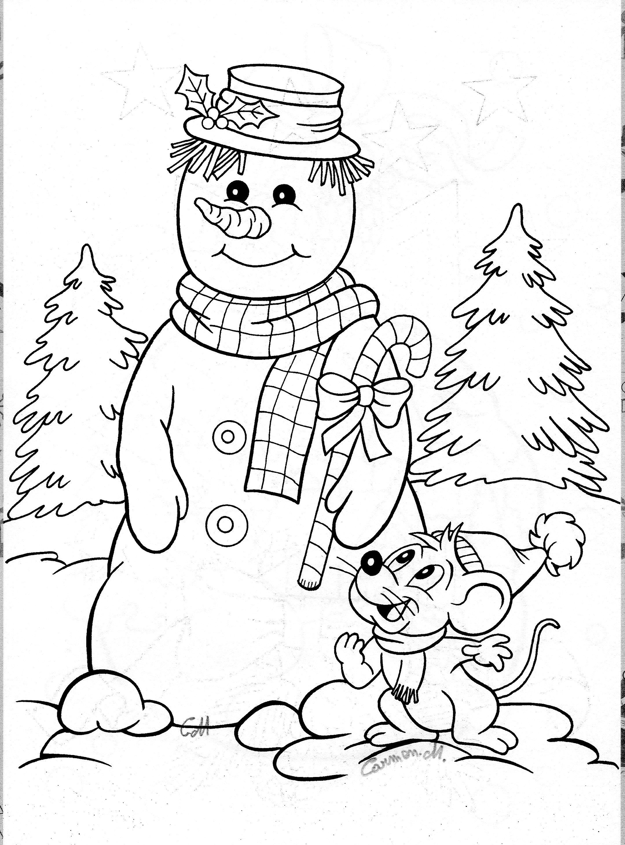 Snowman and Mouse Drawing Art Pinterest Mice and Snowman