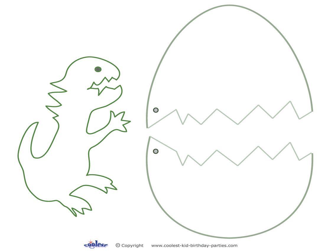 Medium Printable Dinosaur Craft