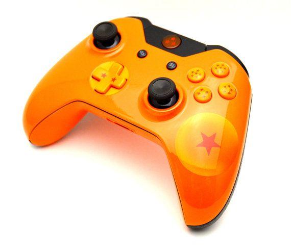 Dragon Ball Z Custom Xbox One Controller By LaZaModz On