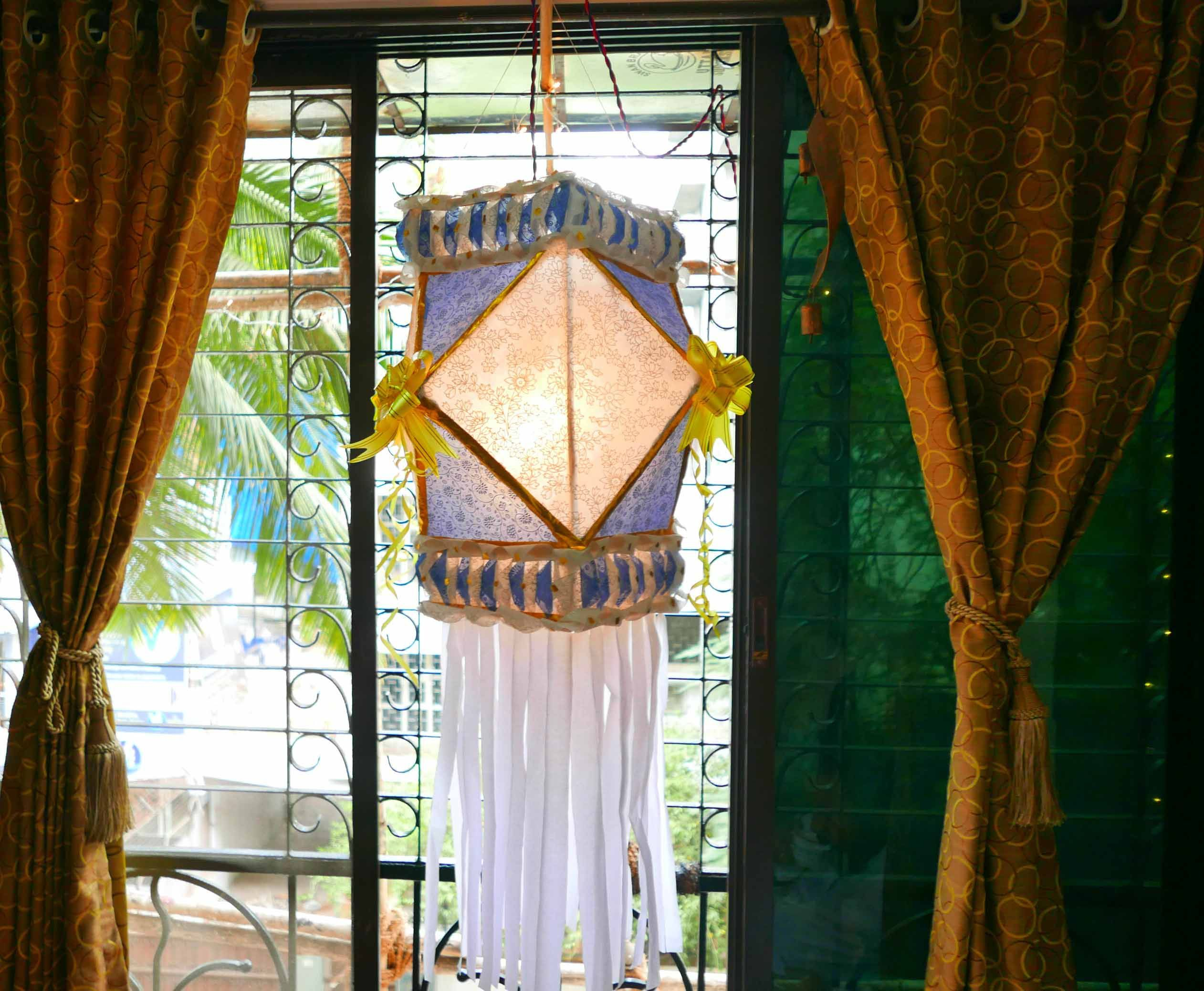 Diwali Lamp Craft Great Quick And Simple Lampshade Diy Akash Kandil Last Minute Decoration
