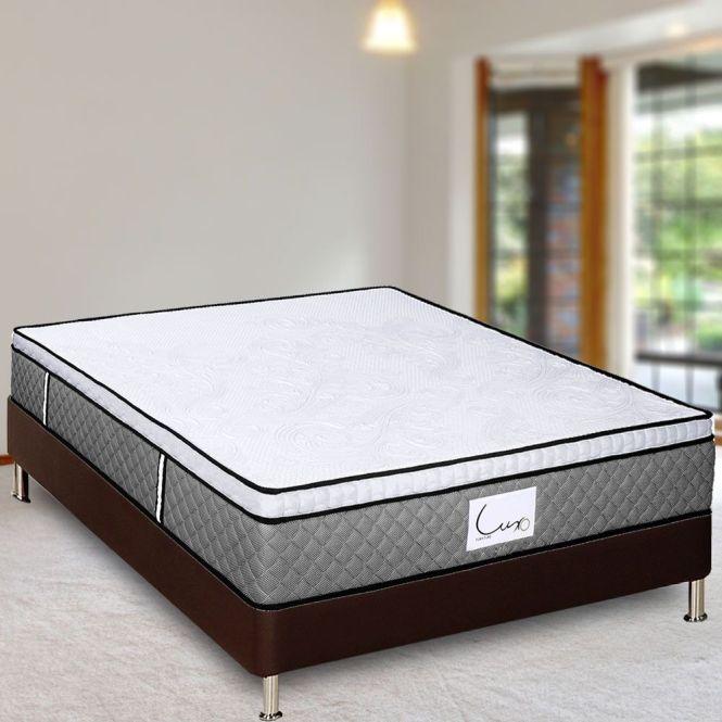 Luxo Pomona Deluxe 32cm Latex With Gel Memory Foam Mattress King Online Australia