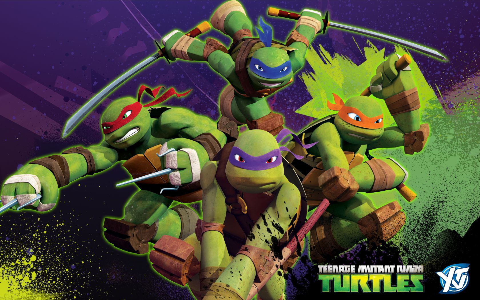 teenage mutant ninja turtles wallpaper wallpaperesque | hd
