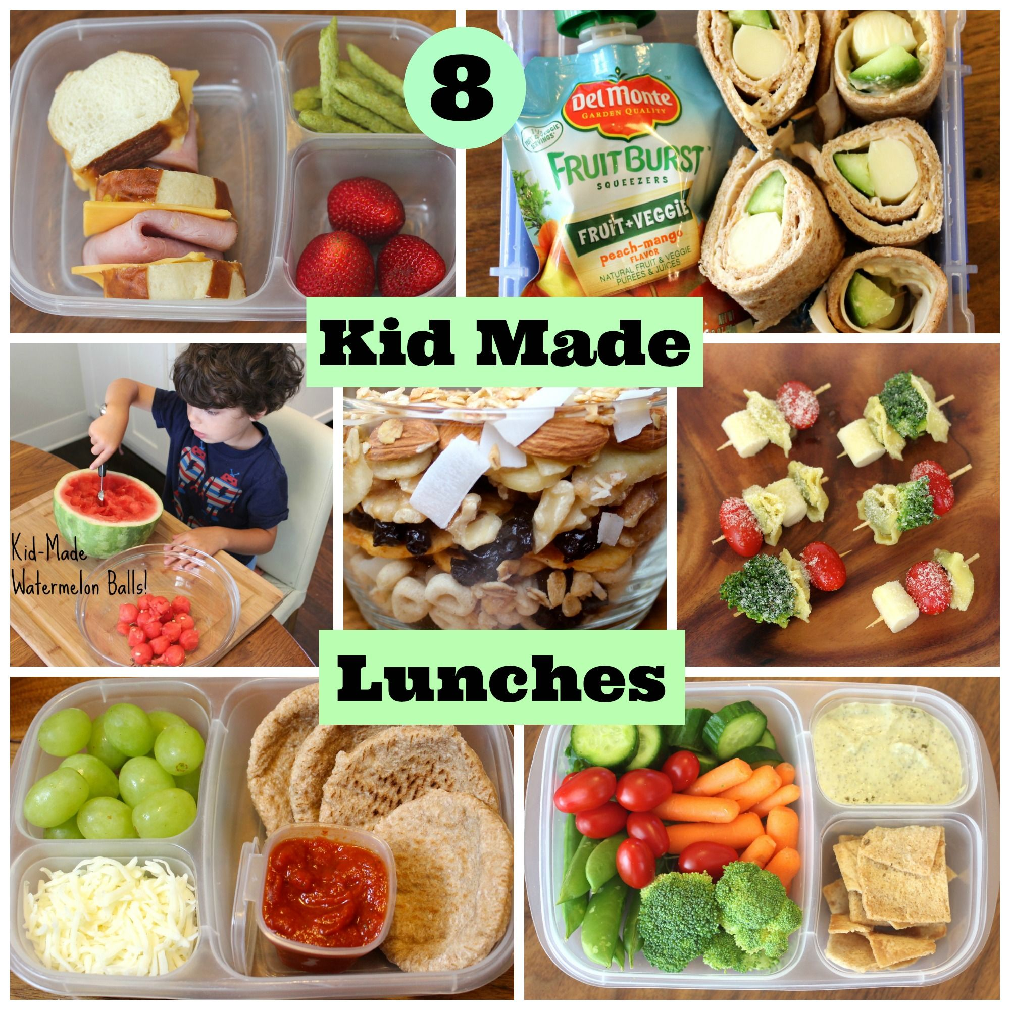 4 Healthy School Lunches Your Kids Can Make Themselves