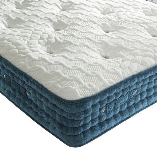 2000 Pocket Spring Chenille Orthopaedic Mattress Luxury Fabric Beds Co Uk